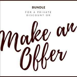 Other - Create a bundle to receive a private discount✨